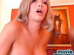 Provoking Large Tit Shemale Floozy